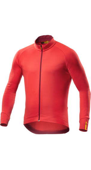 Mavic Aksium Thermo LS Jersey Men racing red